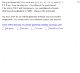 The Quadrilateral Task (Practice)