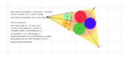 circonferenze inscritte in uno stesso triangolo