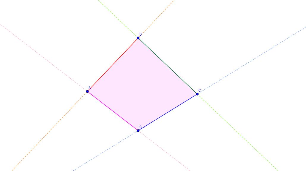 Poligono quadrilatero
