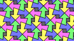 Pythagorean Tessellation # 49 Tiling