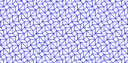 Pythagorean tessellation # 124 Tiling