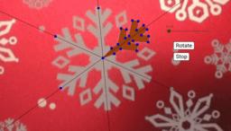 Snowflake Rotational Symmetry