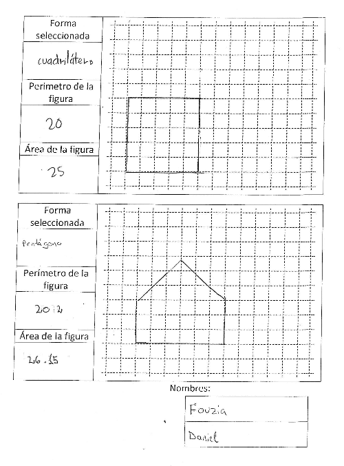 Ordenagailua - karratuak eta pentagonoak