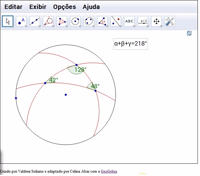 Elliptic Triangle