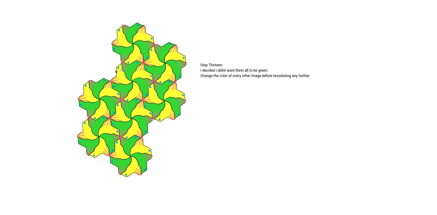 Rotation Tessellation Step 13