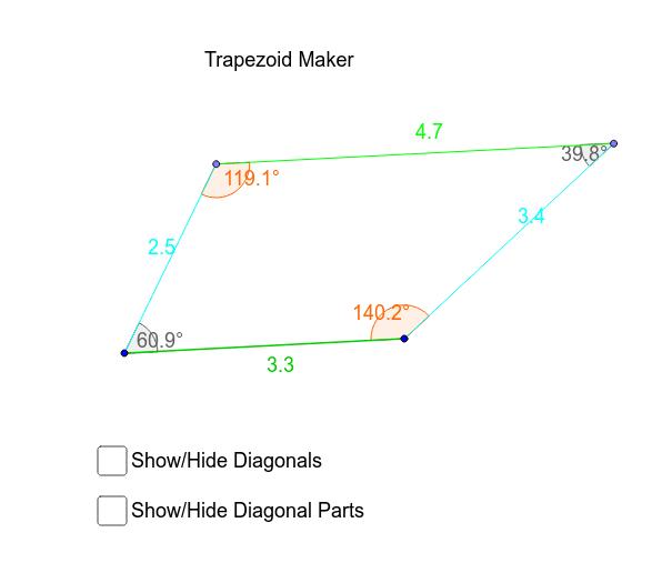Trapezoid Maker – GeoGebra