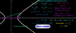 Cónicas ( Hipérbola 3 )