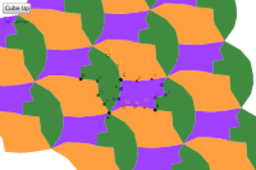 Three Piece Hexagonal Tessellation