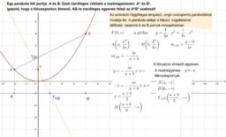 Parabola - bizonyítás