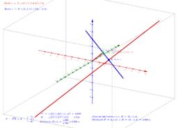 Recta perpendicular a r pel punt P