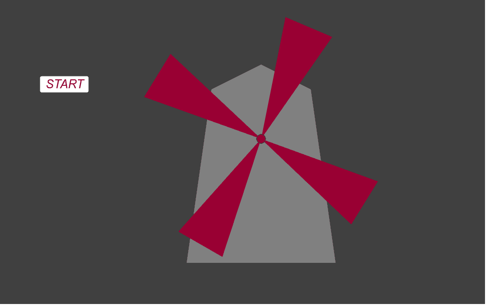 Animowany wiatrak