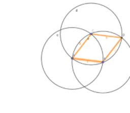 Non square rhombus