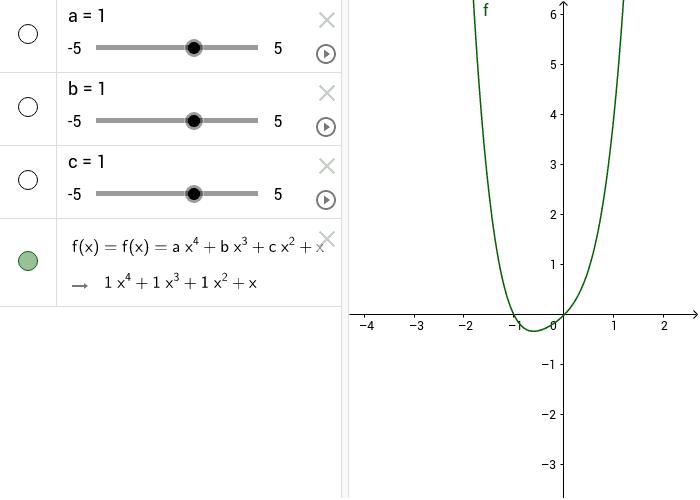 ora aggiungiamo anche il termine dx- caso particolare d=1