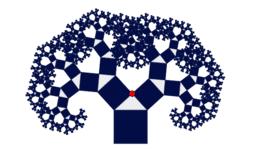 Pythagoras tree fractal
