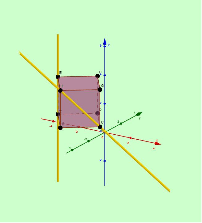 Actividad 1 - Posiciones relativas entre dos rectas en el espacio