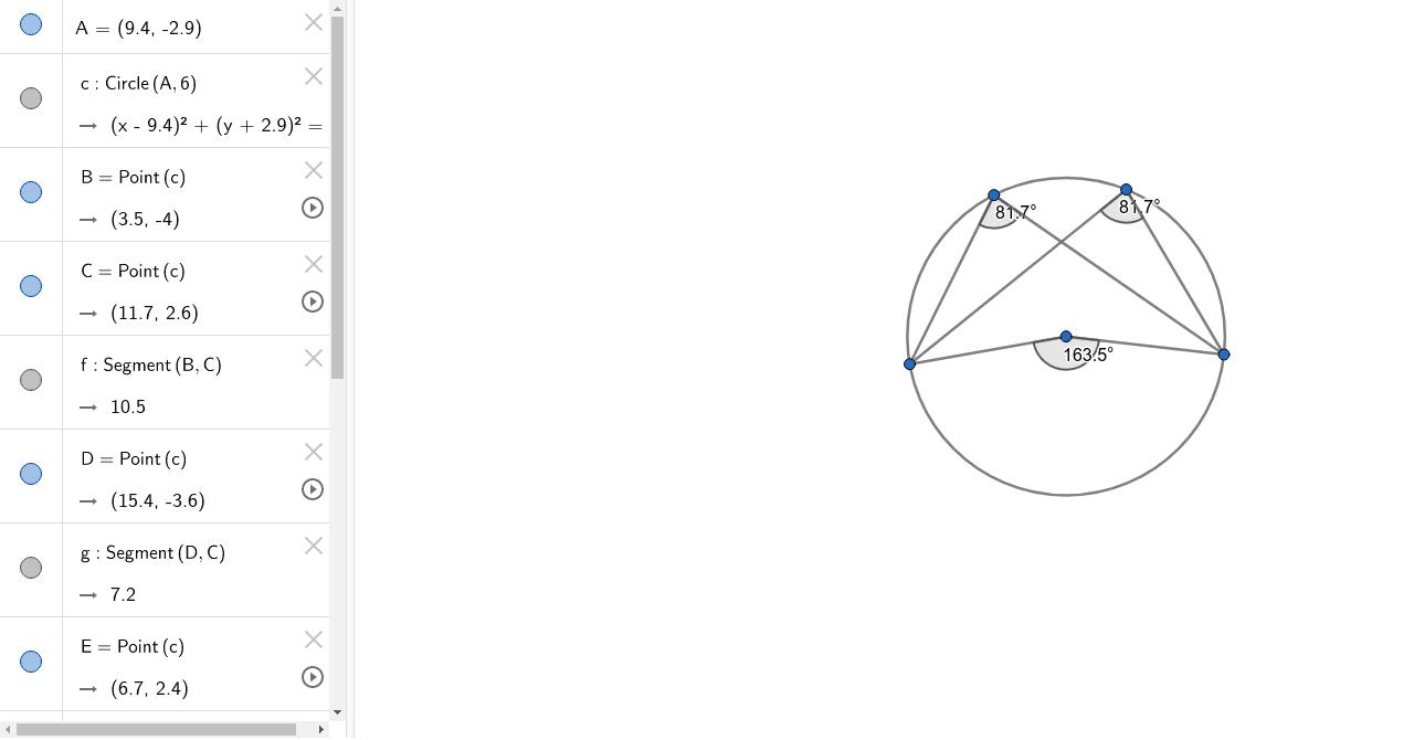 Circle Theorem 3 Press Enter to start activity