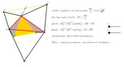 Problema dos Triângulos Equiláteros