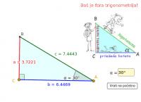 Uvod u trigonometriju pravokutnog trokuta