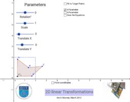 2D Linear Transformations