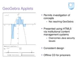 GeoGebra Applets