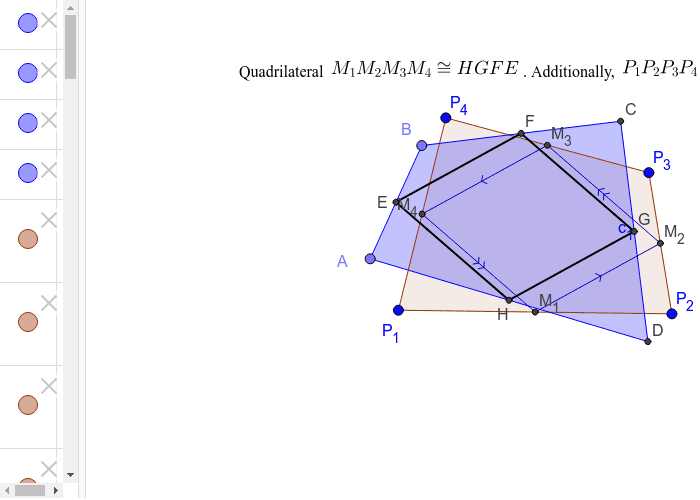 Proof that given midpoint quadrilateral, there is NO WAY to determine the original polygon.