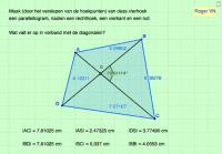 Vierhoek omvormen tot een parall., rechthoek, vierkant, ruit