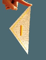 Rotierendes Dreieck