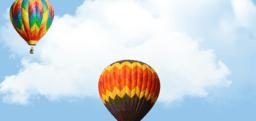 Проект: воздушные шары в небе