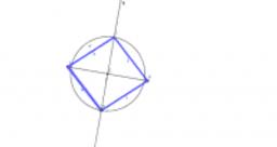 Non-square rhombus