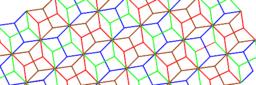 Pythagorean Tessellation # 50 Tiling