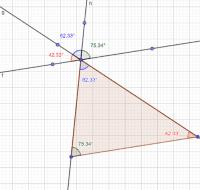 Ejercicio 8 - Angulos de un triangulo
