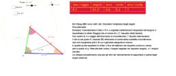 Triangolo-noti i lati calcolare gli angoli
