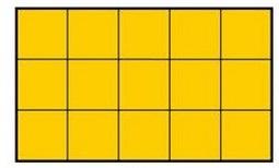 ¿Cuánto mide el área de este rectángulo?