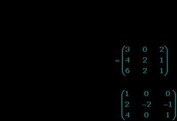 Resolver matrices 3x3