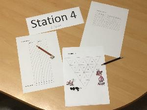 Station 4: Gleichungshalma