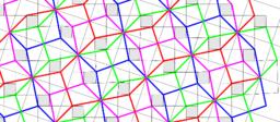 Pythagorean  Tessellation # 77 Tiling