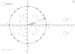 Vrijednosti sinusa i kosinusa istaknutih kutova