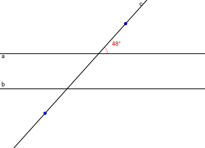 effects on angles moving transversal