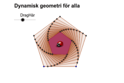 Svenska GeoGebrainstitutets framsideskonstruktion
