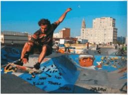 Une rampe de skateboard : tangentes et paraboles (Ex 61 p 88 : Nathan Transmath 1S 2011)
