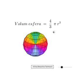 Volum i superfície de l'esfera