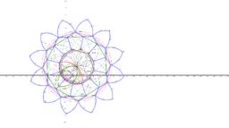 Mandala circulo-line 2 puntos