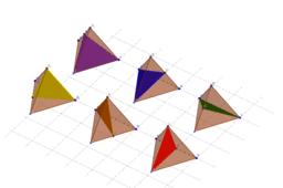 正四面體反射面