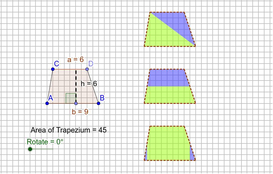 Area of a Trapezium (Derivations)