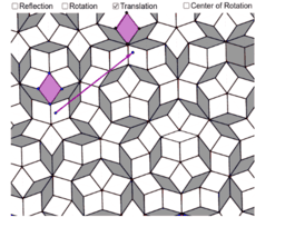 Transformations in a Penrose Tiling