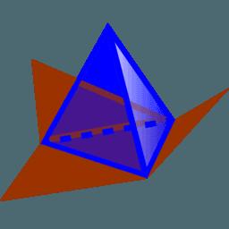 De knoppen van het 3D tekenvenster