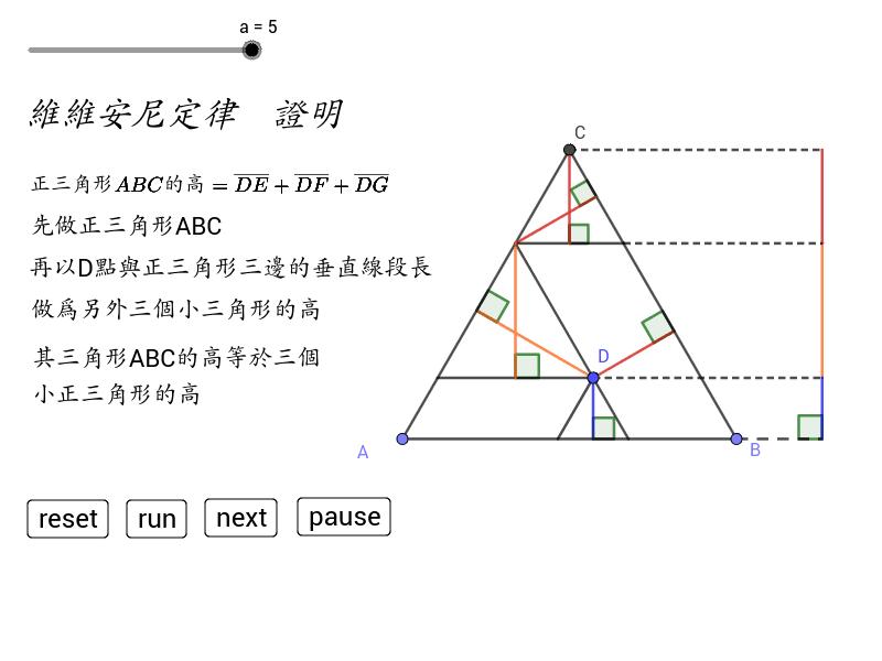 維維安尼定律 Press Enter to start activity