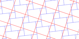Pythagorean Theorem by Tessellation # 21 Tiling