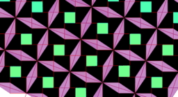 Pythagorean Theorem by  Tessellation # 39 Tiling