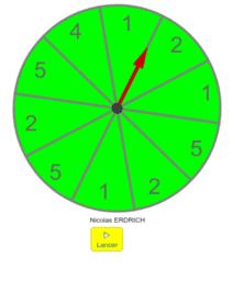 Simulation roulette n°2